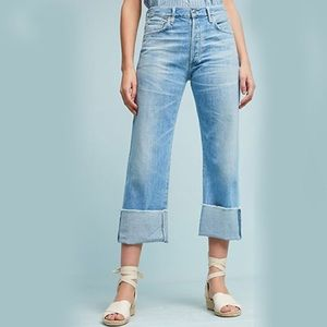 Citizens of Humanity Parker Relaxed Crop Jeans 28
